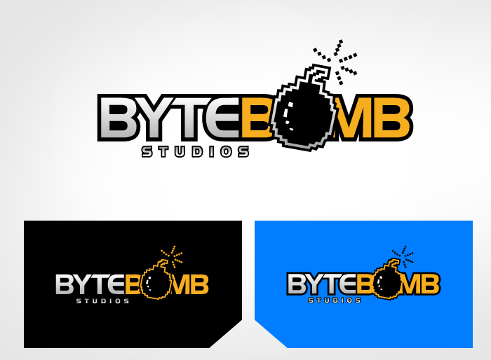 Logo Design by Jan Chua - Entry No. 65 in the Logo Design Contest Captivating Logo Design for ByteBomb Studios.