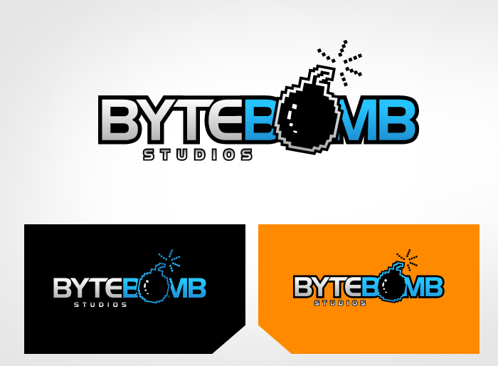 Logo Design by Jan Chua - Entry No. 66 in the Logo Design Contest Captivating Logo Design for ByteBomb Studios.