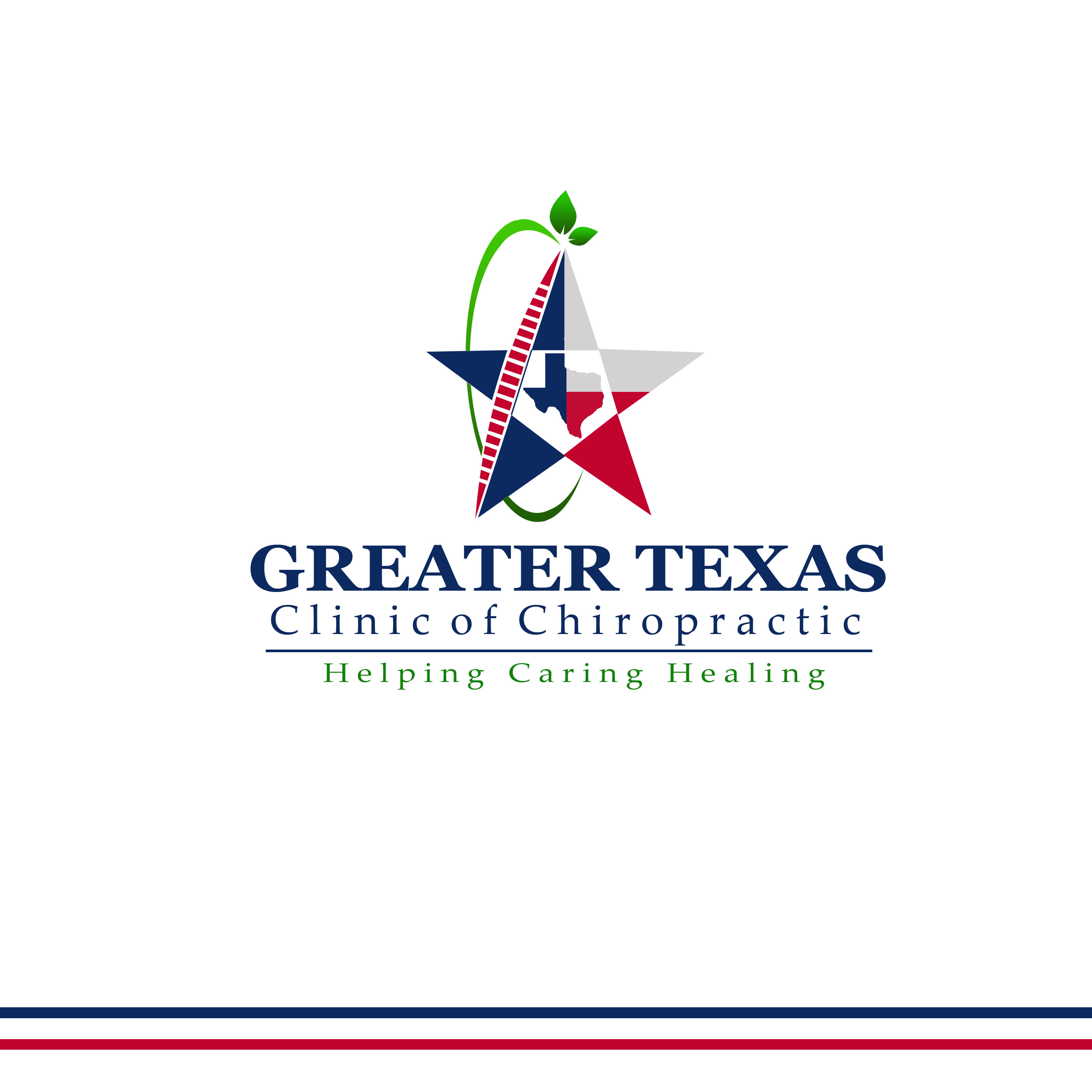 Logo Design by Allan Esclamado - Entry No. 35 in the Logo Design Contest New Logo Design for Greater Texas Clinic of Chiropractic.