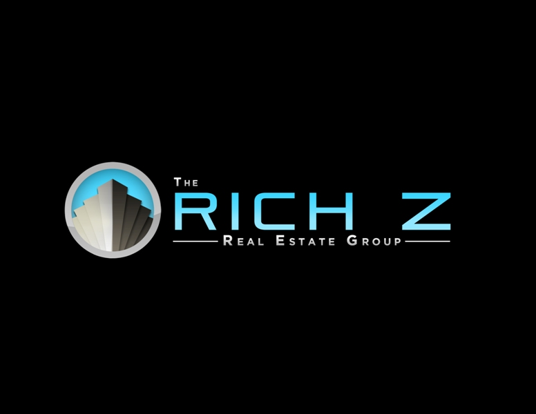 Logo Design by Juan_Kata - Entry No. 337 in the Logo Design Contest The Rich Z. Real Estate Group Logo Design.