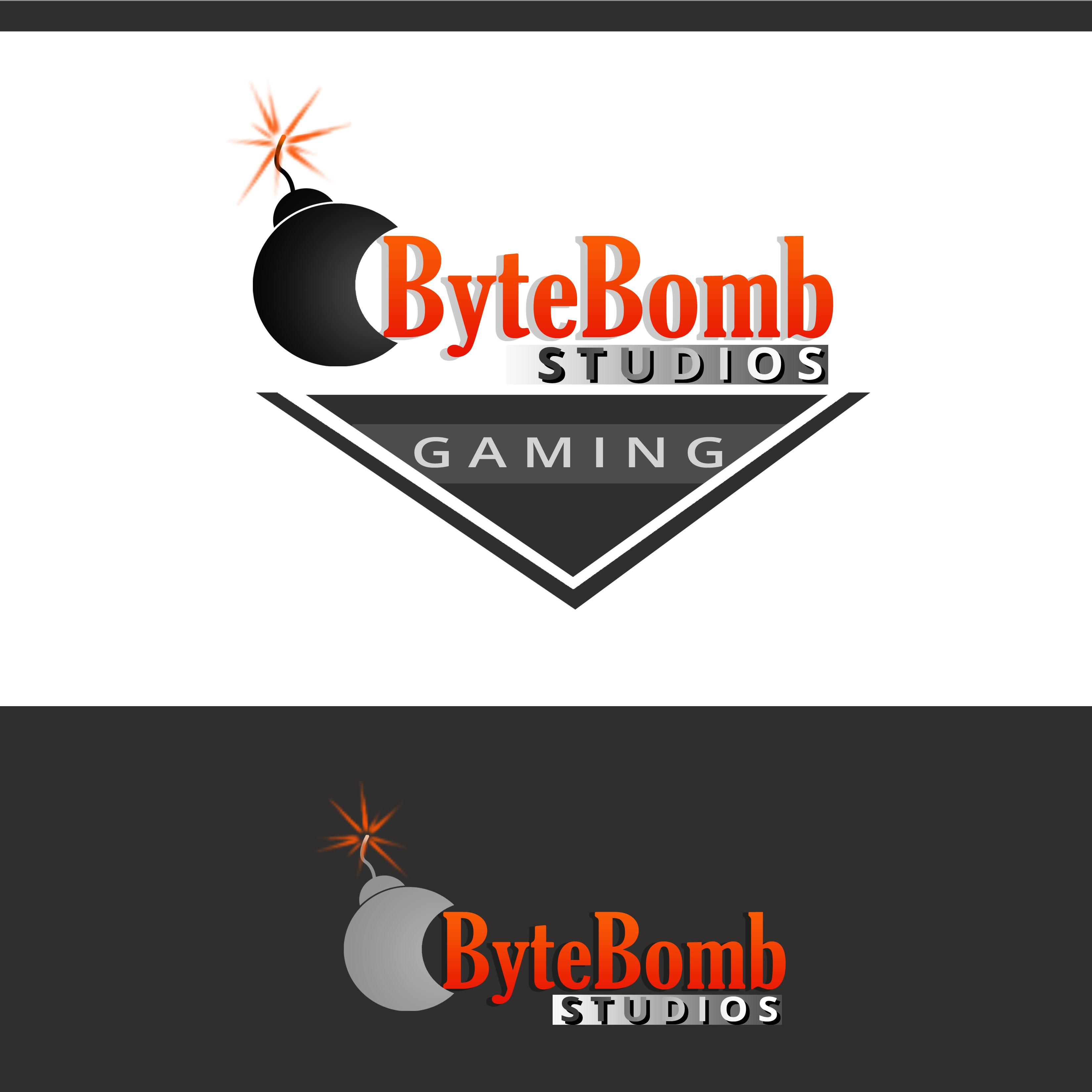 Logo Design by Allan Esclamado - Entry No. 70 in the Logo Design Contest Captivating Logo Design for ByteBomb Studios.