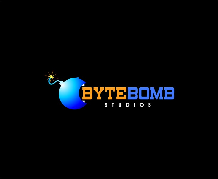 Logo Design by Mhon_Rose - Entry No. 72 in the Logo Design Contest Captivating Logo Design for ByteBomb Studios.