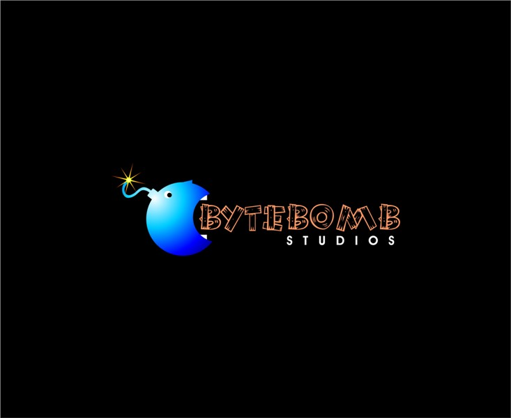 Logo Design by Mhon_Rose - Entry No. 73 in the Logo Design Contest Captivating Logo Design for ByteBomb Studios.