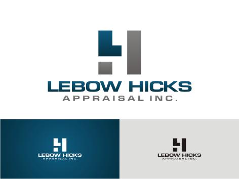 Logo Design by key - Entry No. 36 in the Logo Design Contest Fun Logo Design for Lebow, Hicks Appraisal Inc..