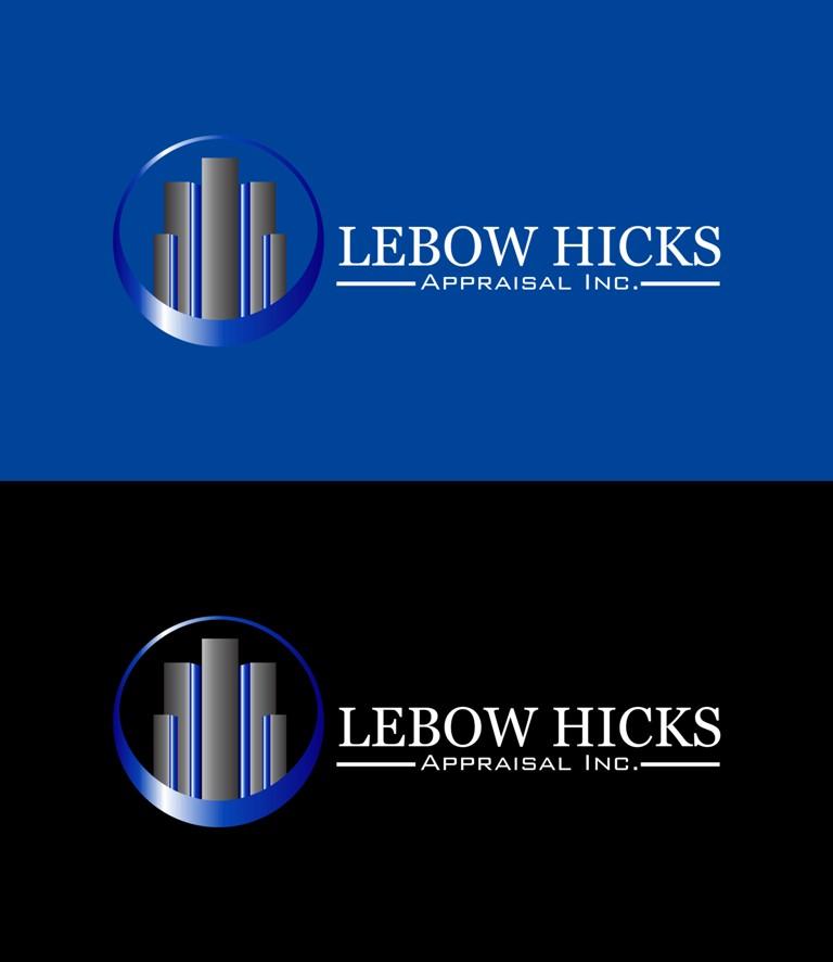 Logo Design by Crispin Jr Vasquez - Entry No. 37 in the Logo Design Contest Fun Logo Design for Lebow, Hicks Appraisal Inc..