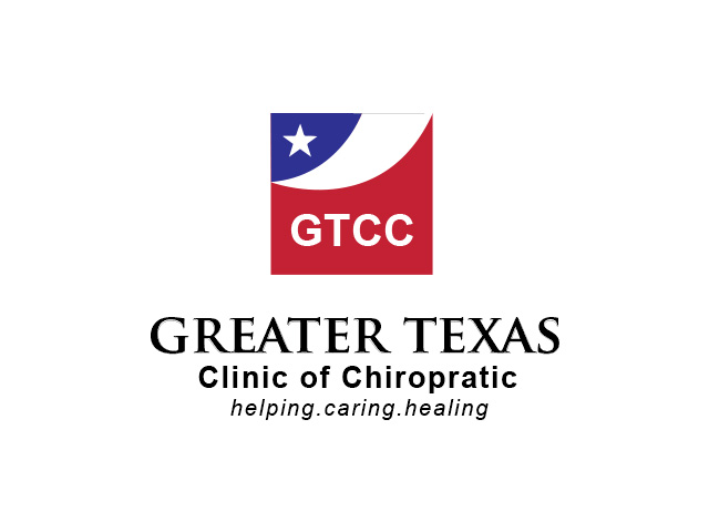 Logo Design by Kyaw Min Khaing - Entry No. 45 in the Logo Design Contest New Logo Design for Greater Texas Clinic of Chiropractic.