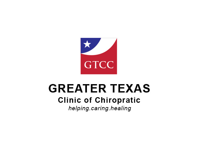 Logo Design by Kyaw Min Khaing - Entry No. 46 in the Logo Design Contest New Logo Design for Greater Texas Clinic of Chiropractic.