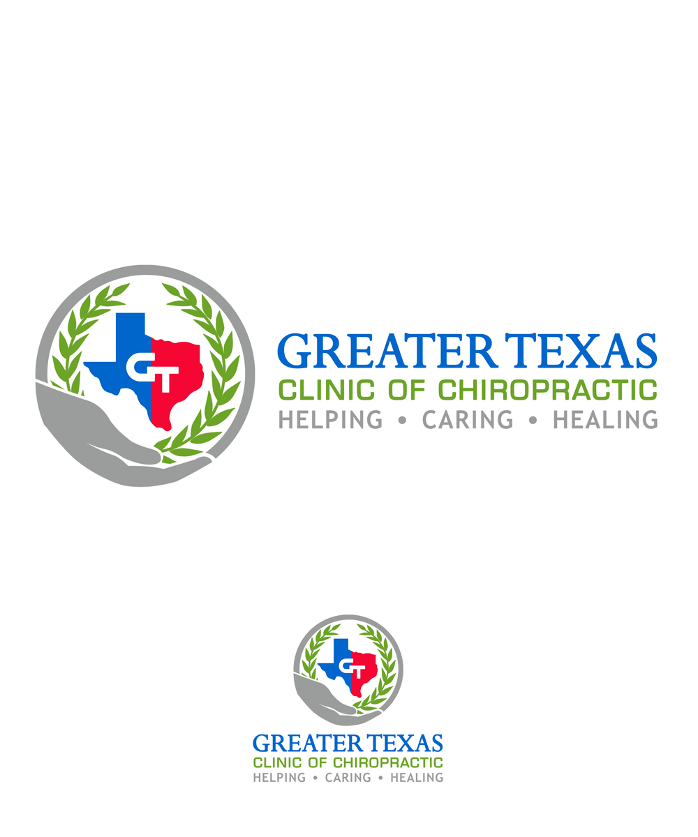 Logo Design by Private User - Entry No. 47 in the Logo Design Contest New Logo Design for Greater Texas Clinic of Chiropractic.