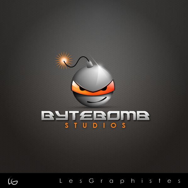 Logo Design by Les-Graphistes - Entry No. 83 in the Logo Design Contest Captivating Logo Design for ByteBomb Studios.