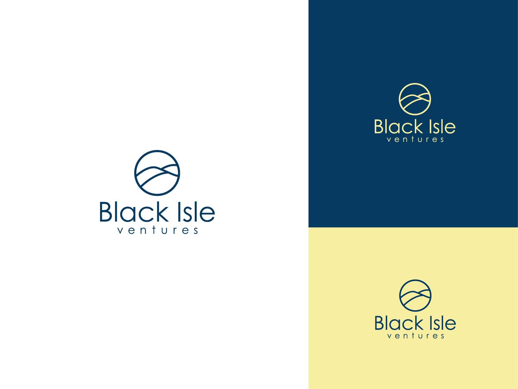 Logo Design by Osi Indra - Entry No. 81 in the Logo Design Contest Creative Logo Design for Black Isle Ventures.