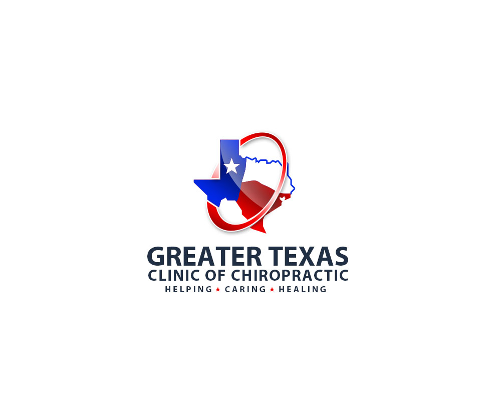 Logo Design by Private User - Entry No. 50 in the Logo Design Contest New Logo Design for Greater Texas Clinic of Chiropractic.