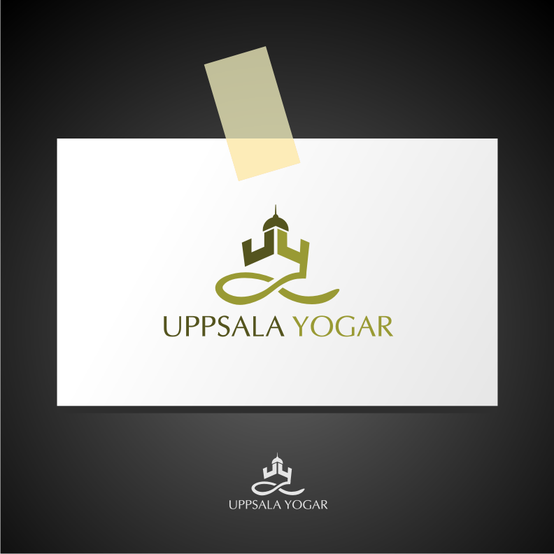 Logo Design by graphicleaf - Entry No. 3 in the Logo Design Contest Unique Logo Design Wanted for Uppsala Yogar.