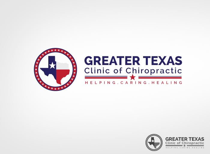 Logo Design by Jan Chua - Entry No. 62 in the Logo Design Contest New Logo Design for Greater Texas Clinic of Chiropractic.