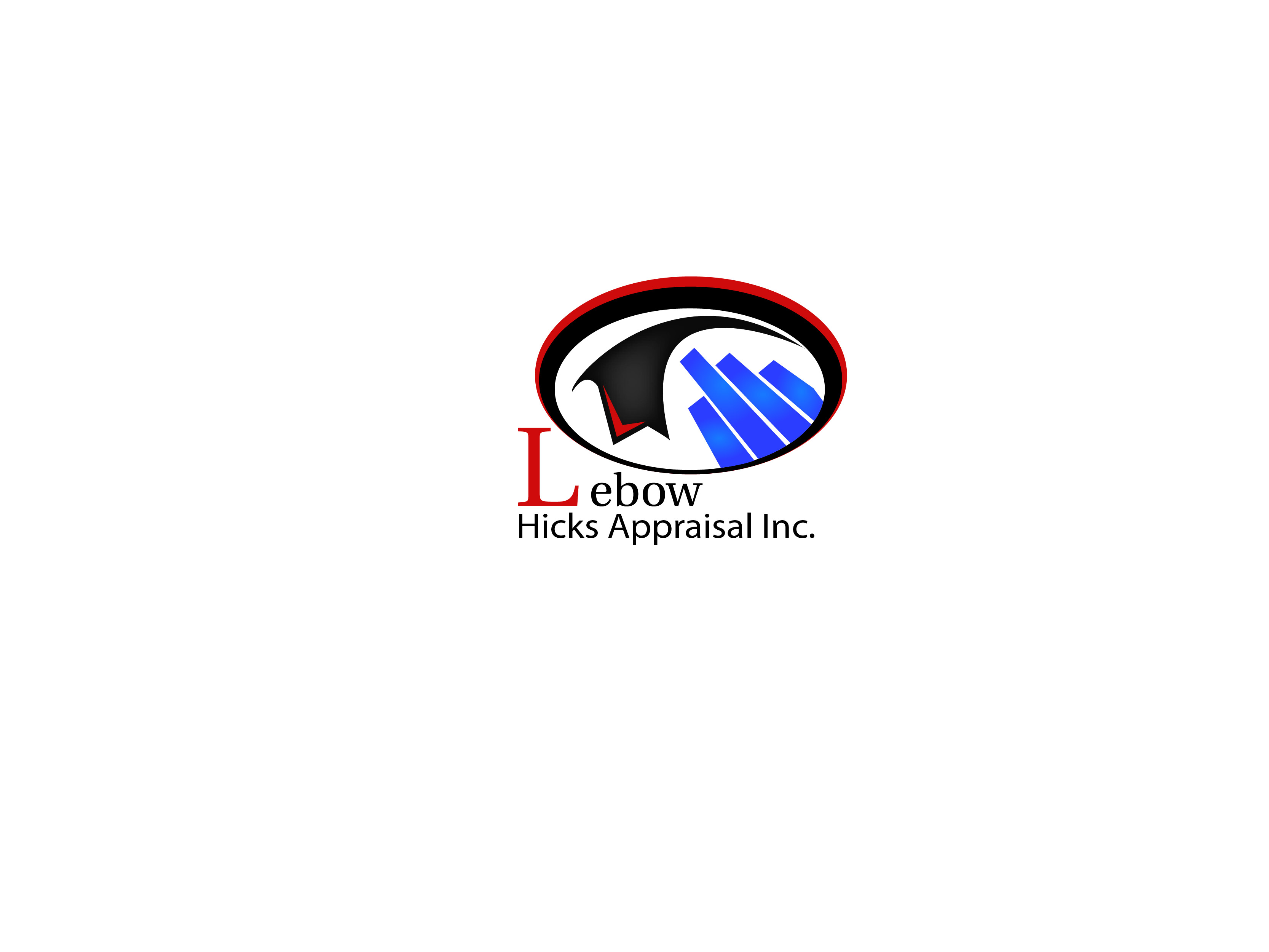 Logo Design by Kishor Patil - Entry No. 47 in the Logo Design Contest Fun Logo Design for Lebow, Hicks Appraisal Inc..