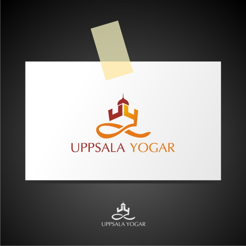 Logo Design by graphicleaf - Entry No. 4 in the Logo Design Contest Unique Logo Design Wanted for Uppsala Yogar.