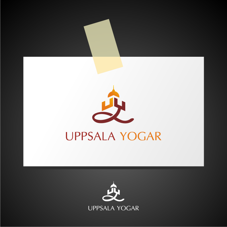 Logo Design by graphicleaf - Entry No. 5 in the Logo Design Contest Unique Logo Design Wanted for Uppsala Yogar.