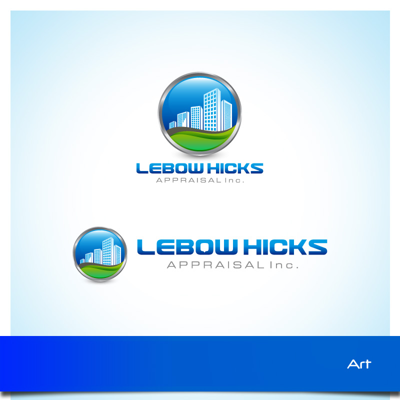 Logo Design by Puspita Wahyuni - Entry No. 50 in the Logo Design Contest Fun Logo Design for Lebow, Hicks Appraisal Inc..