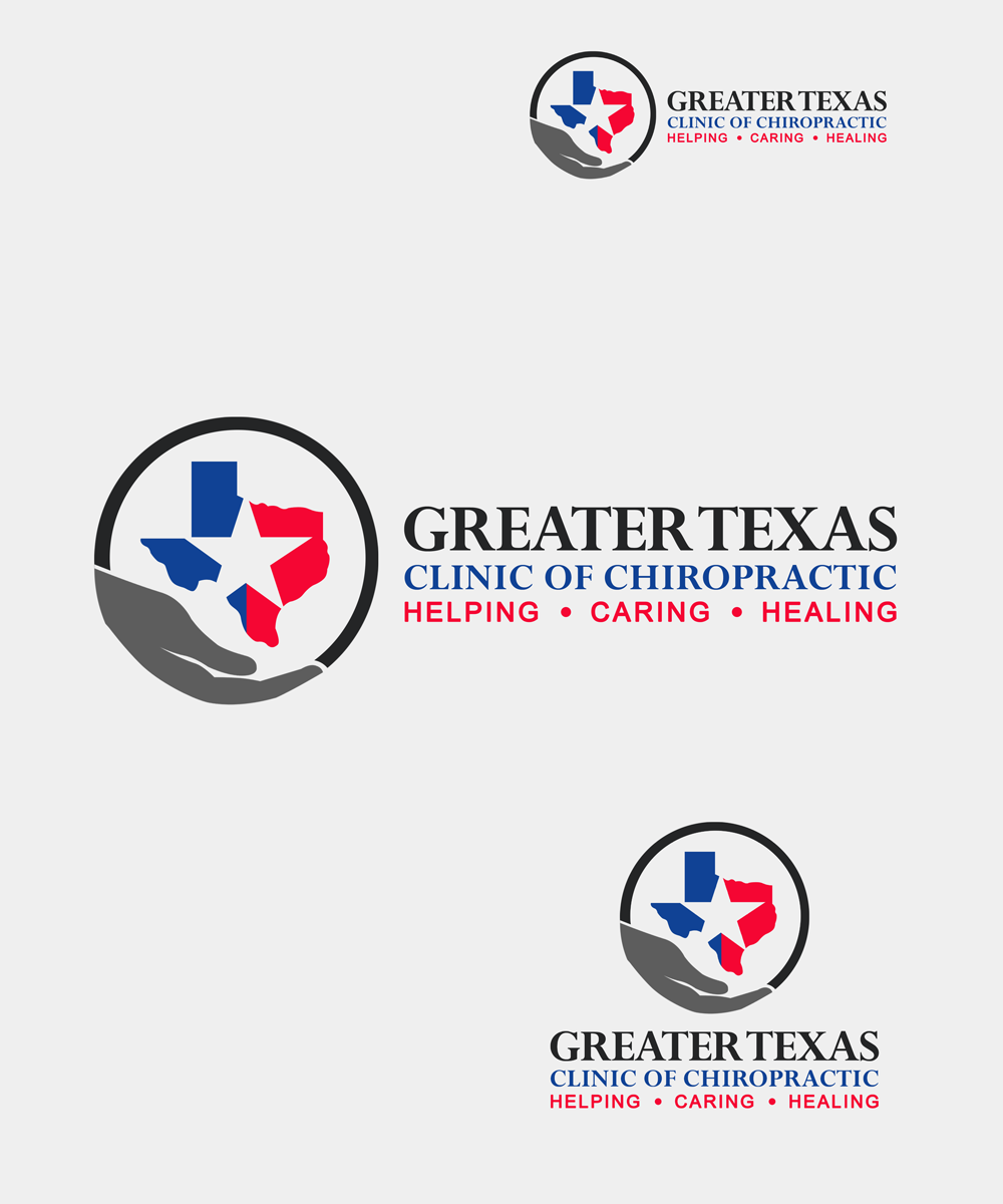 Logo Design by Robert Turla - Entry No. 69 in the Logo Design Contest New Logo Design for Greater Texas Clinic of Chiropractic.