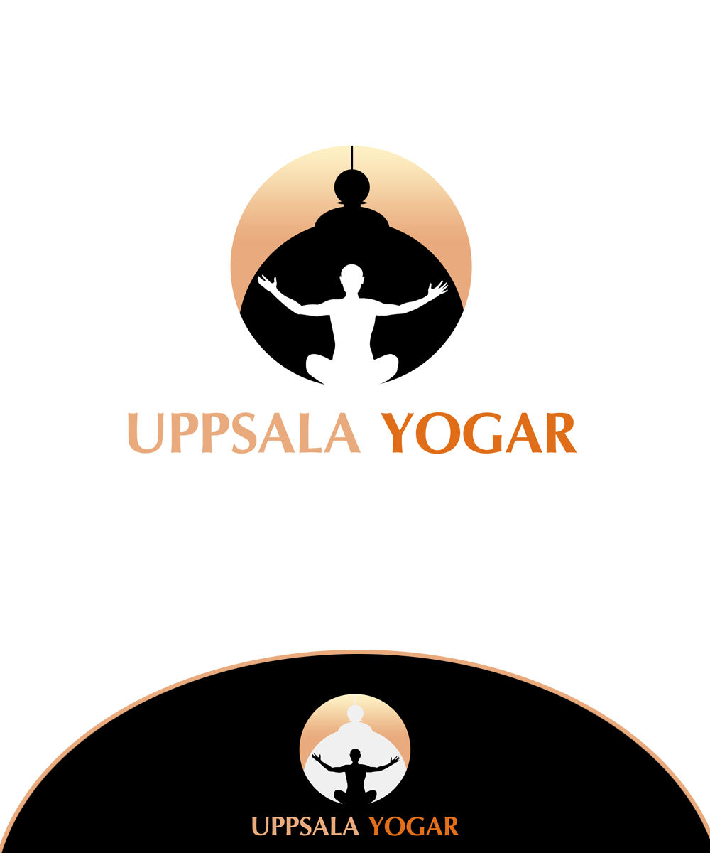Logo Design by Private User - Entry No. 8 in the Logo Design Contest Unique Logo Design Wanted for Uppsala Yogar.