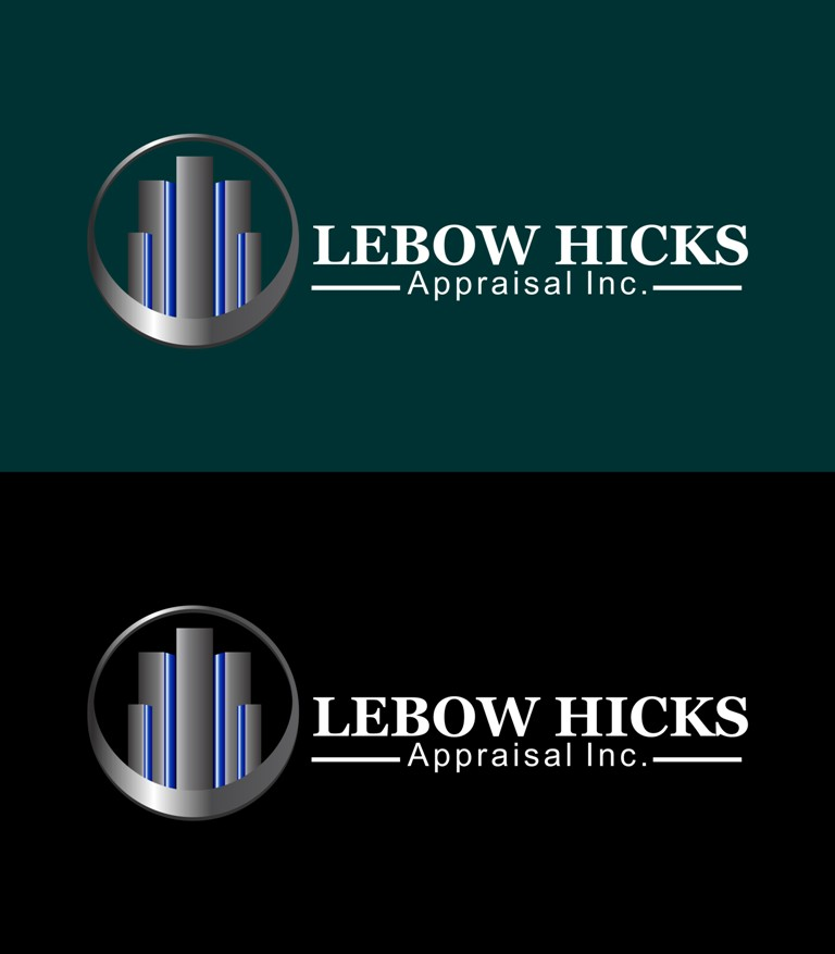 Logo Design by Crispin Jr Vasquez - Entry No. 53 in the Logo Design Contest Fun Logo Design for Lebow, Hicks Appraisal Inc..