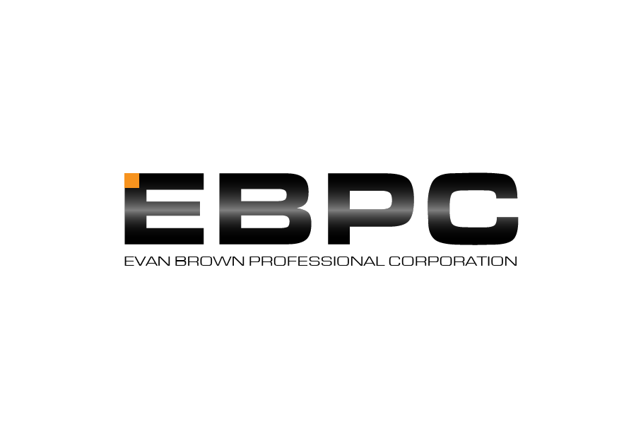 Logo Design by Private User - Entry No. 1 in the Logo Design Contest Inspiring Logo Design for Evan Brown Professional Corporation.