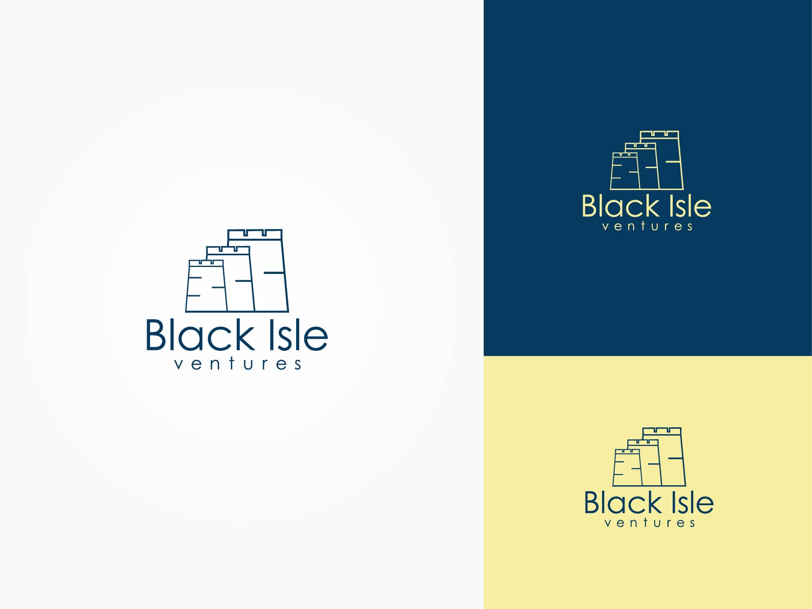 Logo Design by Osi Indra - Entry No. 91 in the Logo Design Contest Creative Logo Design for Black Isle Ventures.