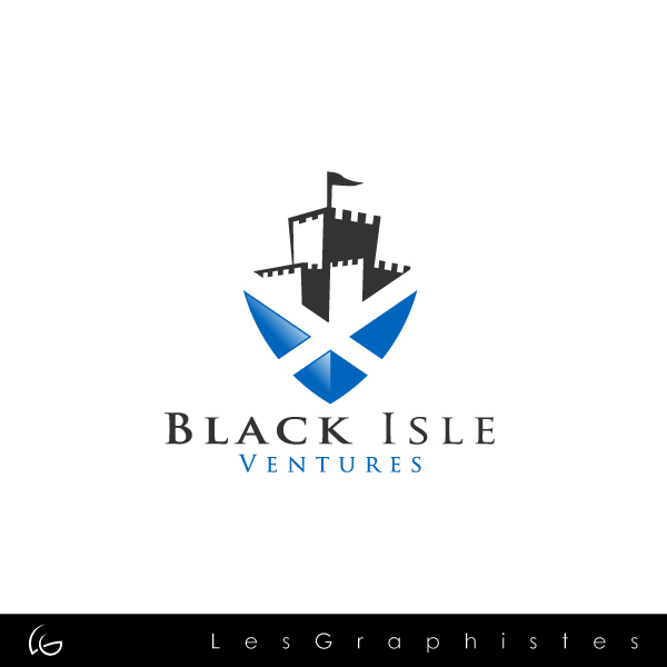 Logo Design by Les-Graphistes - Entry No. 92 in the Logo Design Contest Creative Logo Design for Black Isle Ventures.