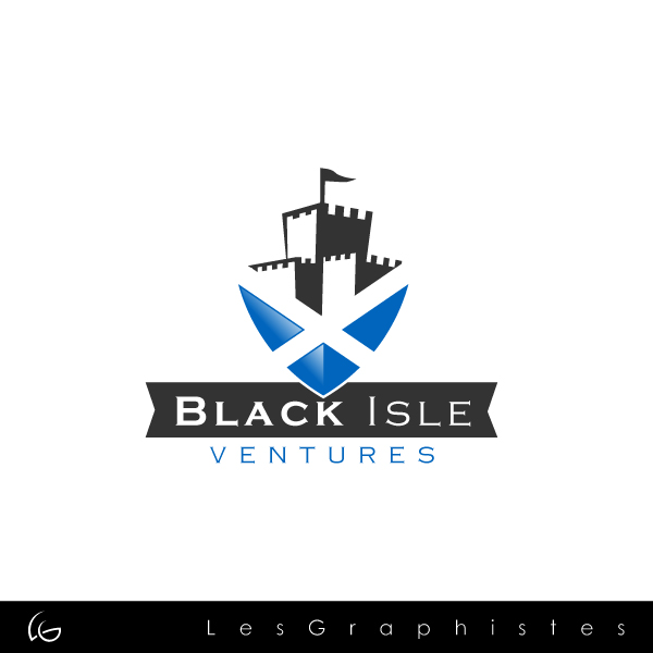 Logo Design by Les-Graphistes - Entry No. 93 in the Logo Design Contest Creative Logo Design for Black Isle Ventures.