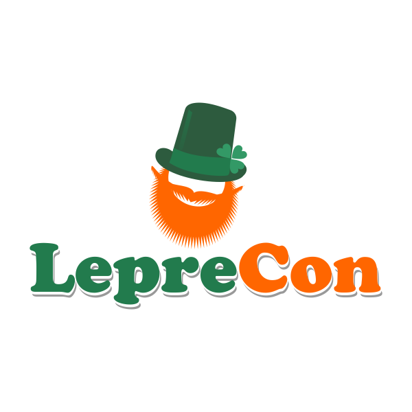 Logo Design by Rudy - Entry No. 11 in the Logo Design Contest FUN Logo Design for *LepreCon* St. Patrick's Event [WILL END EARLY JAN. 26].