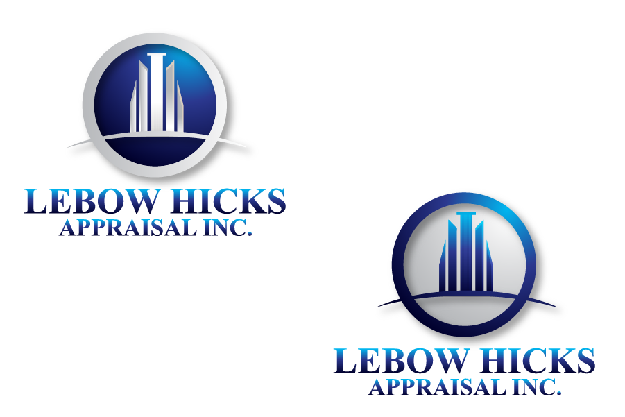 Logo Design by brands_in - Entry No. 65 in the Logo Design Contest Fun Logo Design for Lebow, Hicks Appraisal Inc..