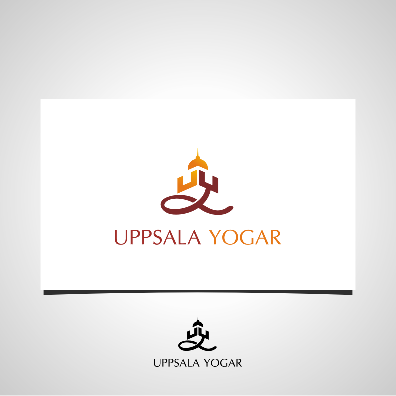 Logo Design by graphicleaf - Entry No. 13 in the Logo Design Contest Unique Logo Design Wanted for Uppsala Yogar.