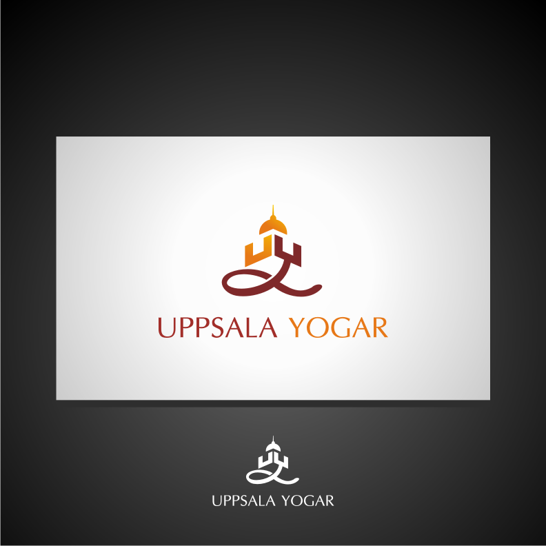 Logo Design by graphicleaf - Entry No. 14 in the Logo Design Contest Unique Logo Design Wanted for Uppsala Yogar.