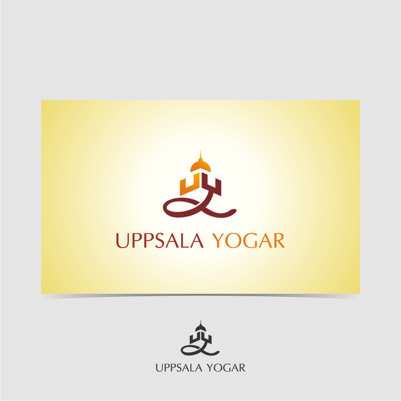 Logo Design by graphicleaf - Entry No. 15 in the Logo Design Contest Unique Logo Design Wanted for Uppsala Yogar.