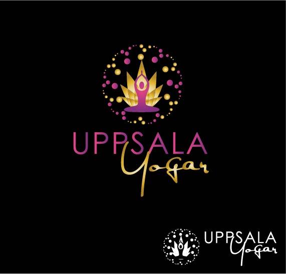Logo Design by Darina Dimitrova - Entry No. 16 in the Logo Design Contest Unique Logo Design Wanted for Uppsala Yogar.