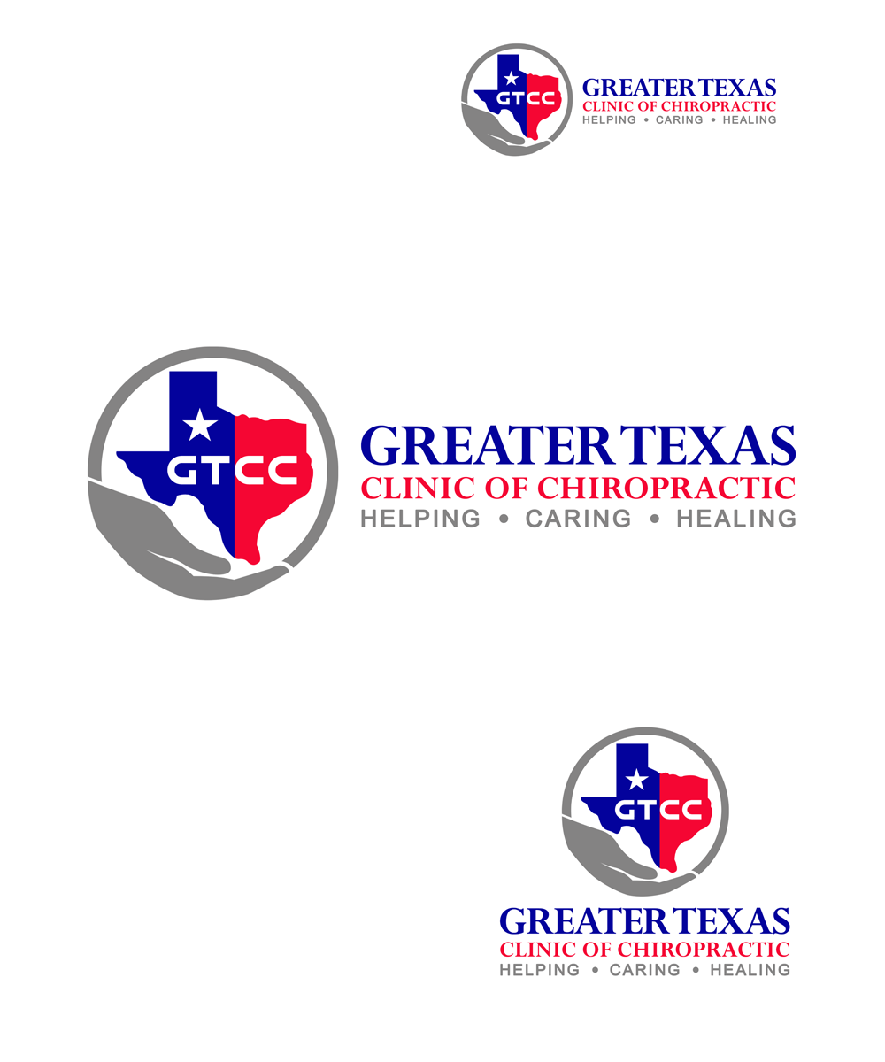 Logo Design by Private User - Entry No. 73 in the Logo Design Contest New Logo Design for Greater Texas Clinic of Chiropractic.