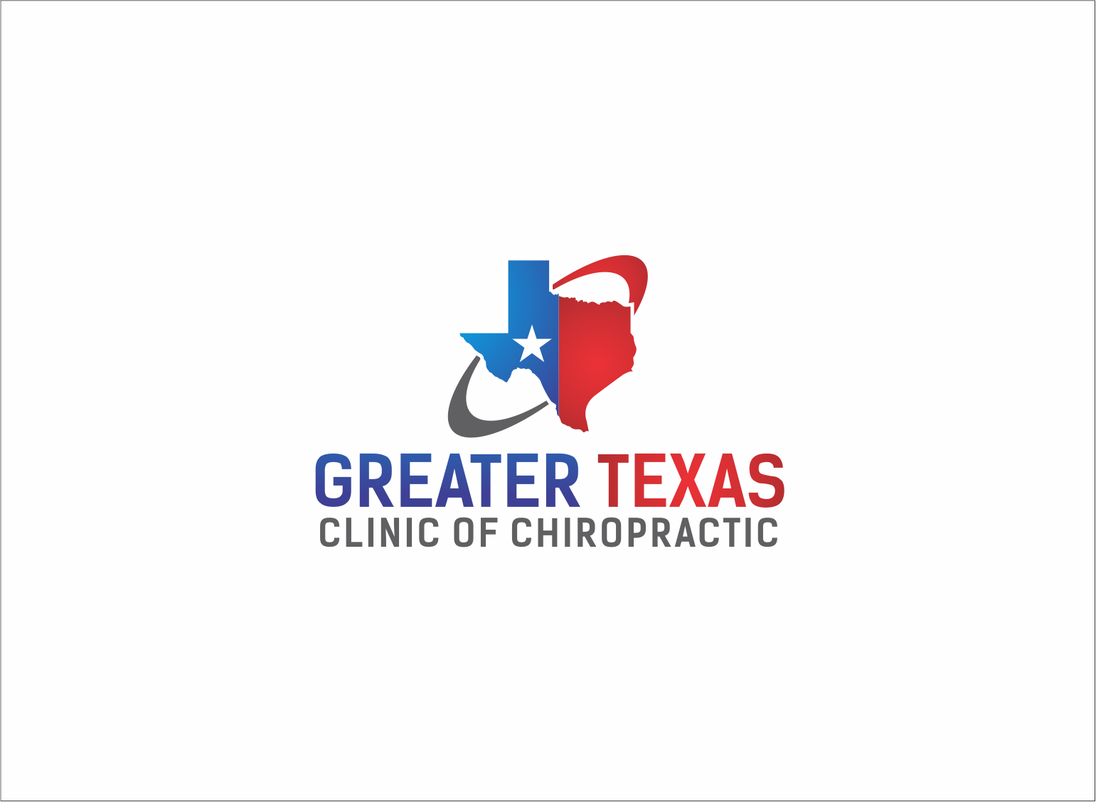 Logo Design by Armada Jamaluddin - Entry No. 75 in the Logo Design Contest New Logo Design for Greater Texas Clinic of Chiropractic.