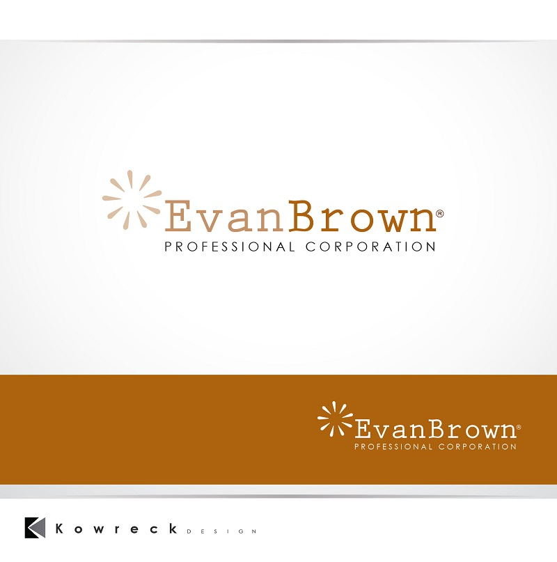 Logo Design by kowreck - Entry No. 9 in the Logo Design Contest Inspiring Logo Design for Evan Brown Professional Corporation.