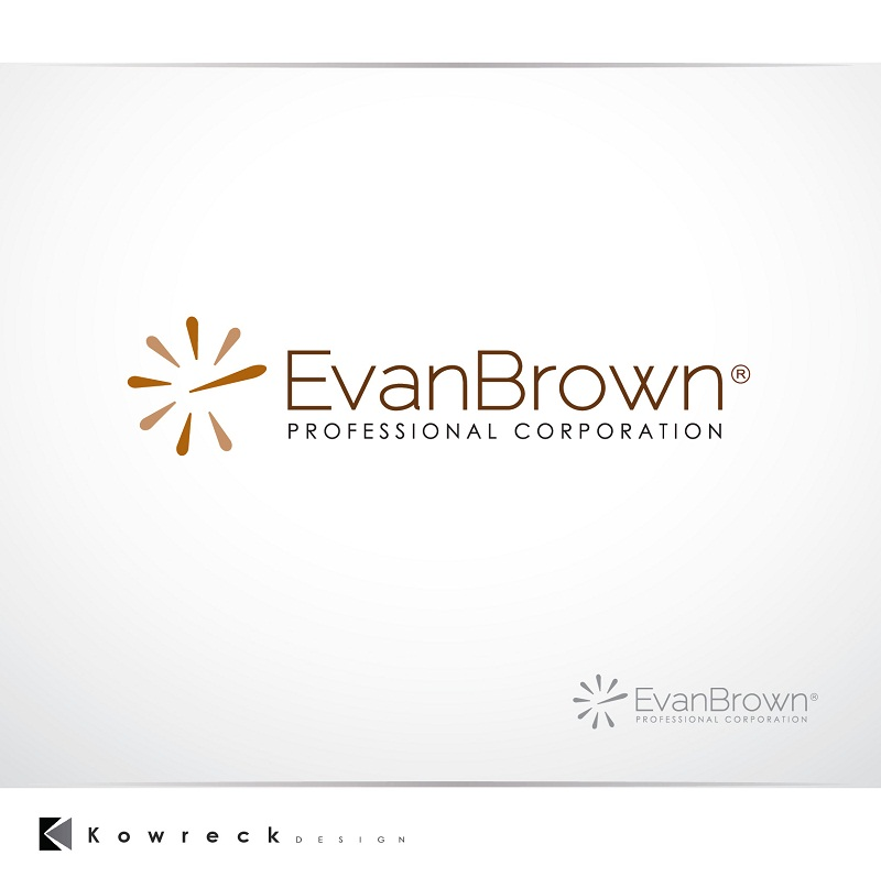 Logo Design by kowreck - Entry No. 10 in the Logo Design Contest Inspiring Logo Design for Evan Brown Professional Corporation.