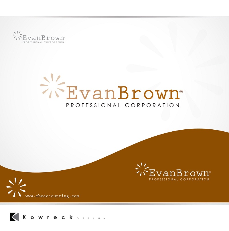Logo Design by kowreck - Entry No. 11 in the Logo Design Contest Inspiring Logo Design for Evan Brown Professional Corporation.