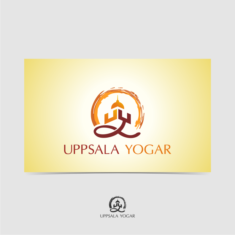 Logo Design by graphicleaf - Entry No. 21 in the Logo Design Contest Unique Logo Design Wanted for Uppsala Yogar.