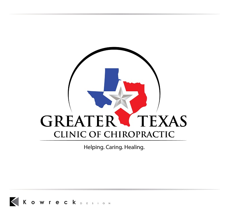 Logo Design by kowreck - Entry No. 84 in the Logo Design Contest New Logo Design for Greater Texas Clinic of Chiropractic.
