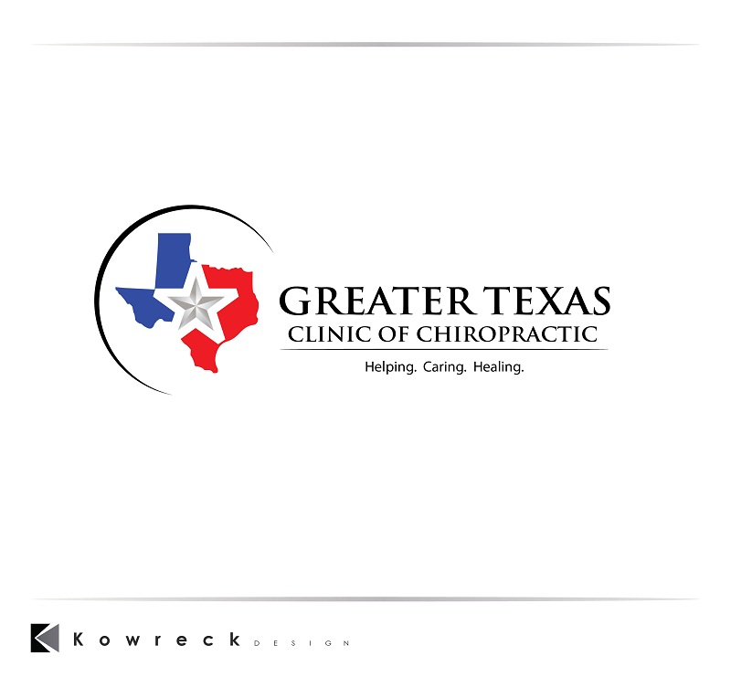 Logo Design by kowreck - Entry No. 85 in the Logo Design Contest New Logo Design for Greater Texas Clinic of Chiropractic.