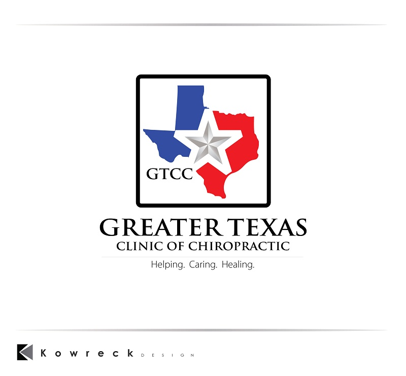 Logo Design by kowreck - Entry No. 86 in the Logo Design Contest New Logo Design for Greater Texas Clinic of Chiropractic.