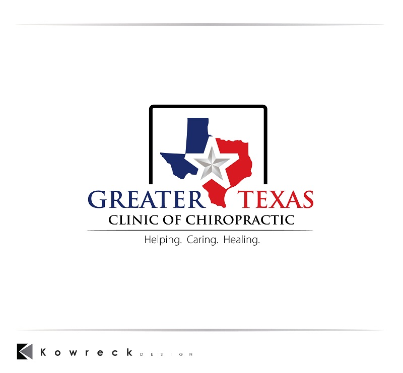 Logo Design by kowreck - Entry No. 87 in the Logo Design Contest New Logo Design for Greater Texas Clinic of Chiropractic.