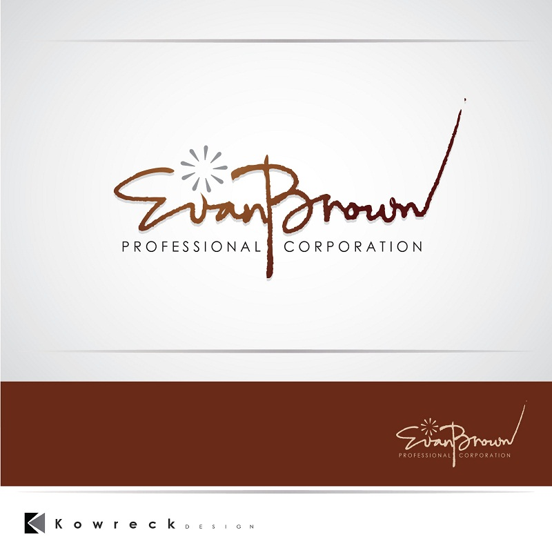 Logo Design by kowreck - Entry No. 18 in the Logo Design Contest Inspiring Logo Design for Evan Brown Professional Corporation.