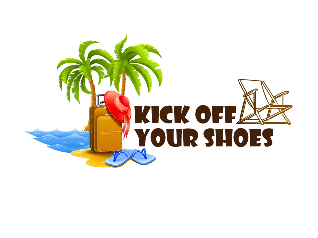 Logo Design by ronik.web - Entry No. 5 in the Logo Design Contest New Logo Design for Kick Off Your Shoes.
