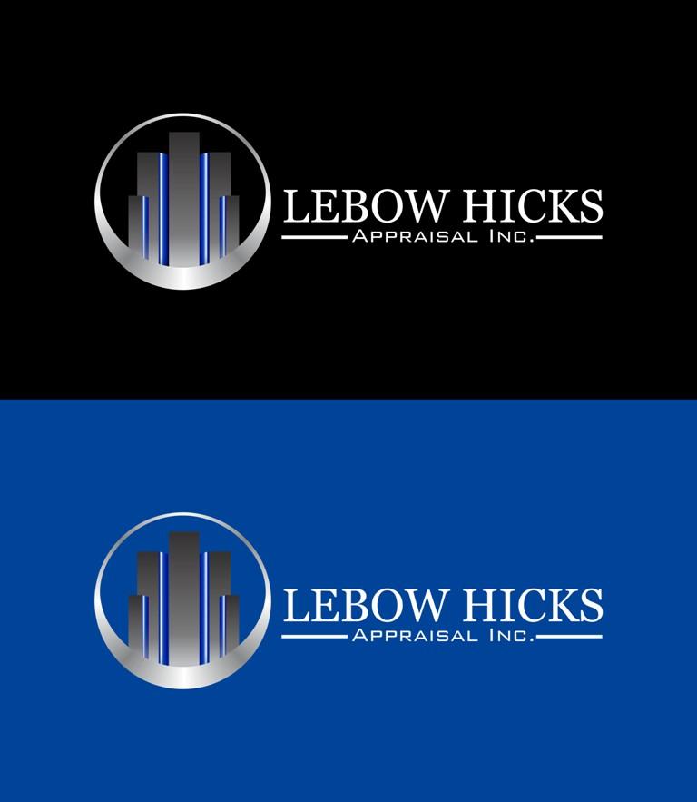 Logo Design by Crispin Jr Vasquez - Entry No. 74 in the Logo Design Contest Fun Logo Design for Lebow, Hicks Appraisal Inc..