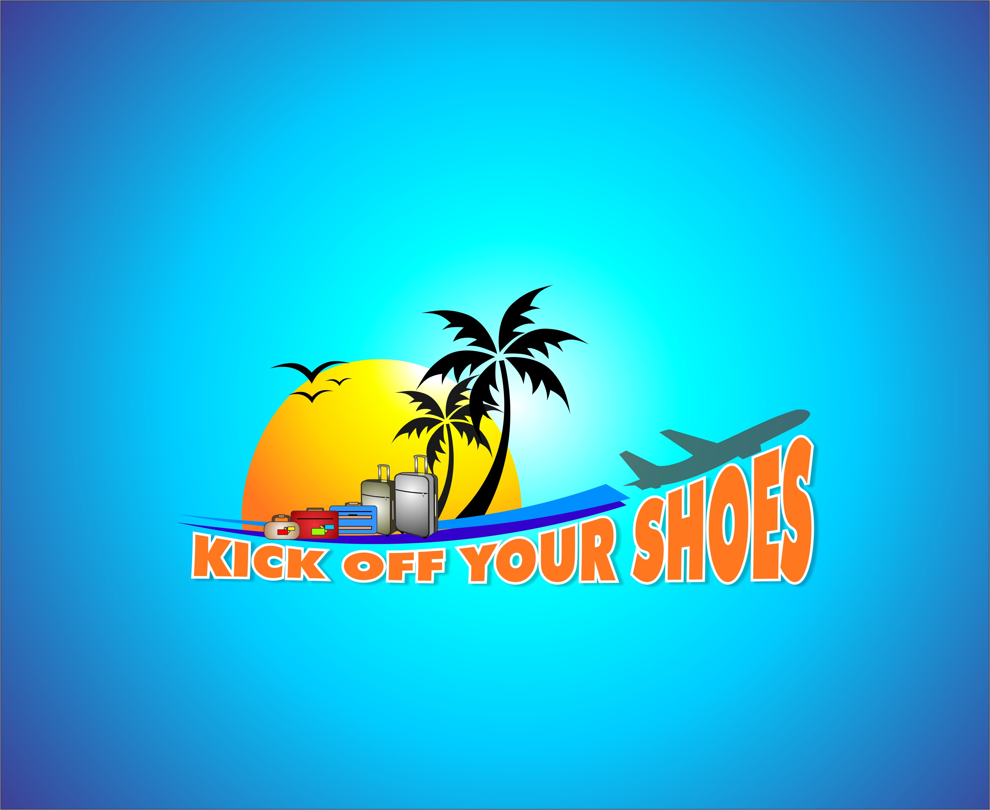 Logo Design by Mhon_Rose - Entry No. 10 in the Logo Design Contest New Logo Design for Kick Off Your Shoes.