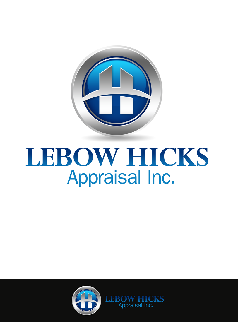 Logo Design by Robert Turla - Entry No. 76 in the Logo Design Contest Fun Logo Design for Lebow, Hicks Appraisal Inc..