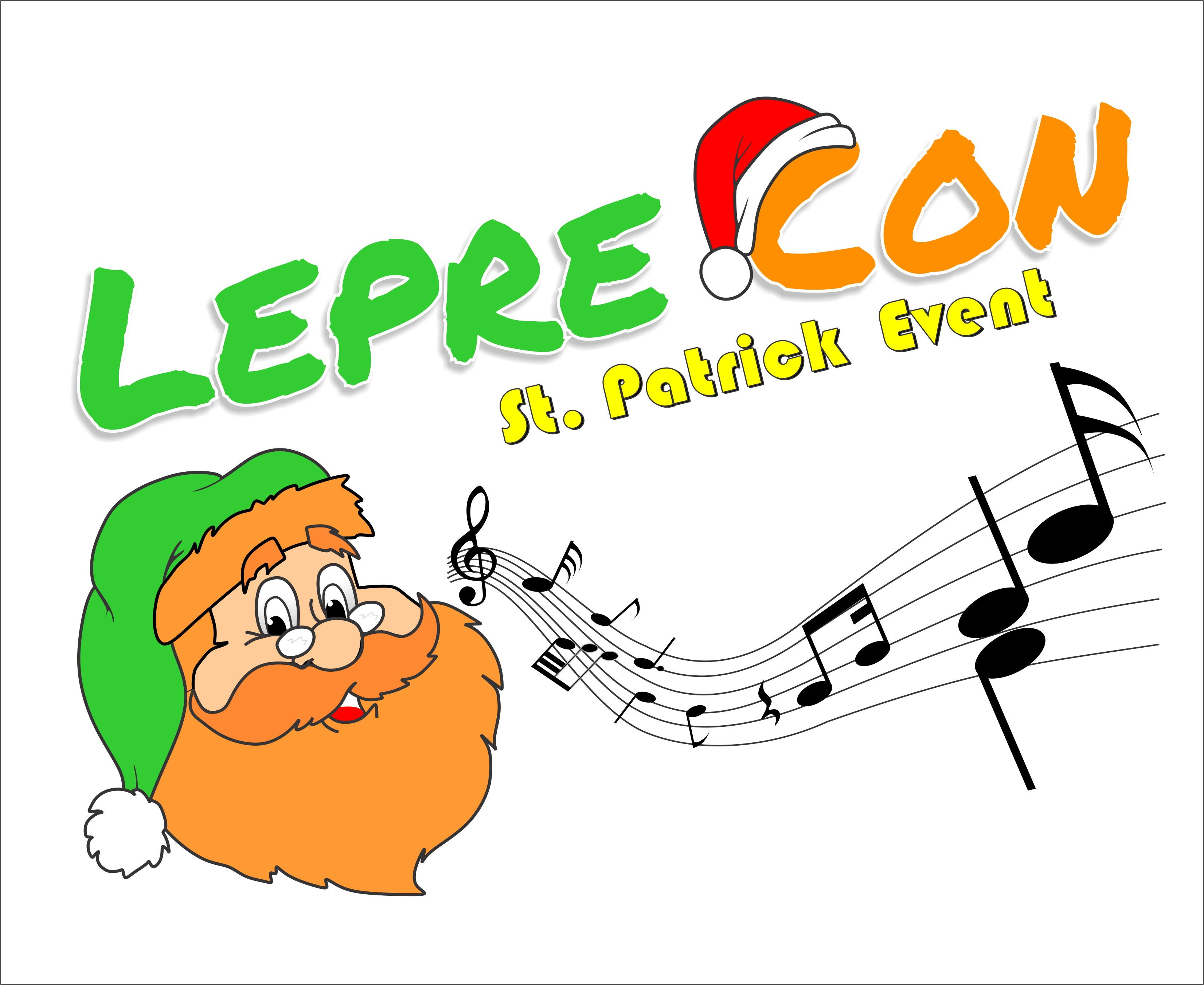 Logo Design by Mhon_Rose - Entry No. 22 in the Logo Design Contest FUN Logo Design for *LepreCon* St. Patrick's Event [WILL END EARLY JAN. 26].